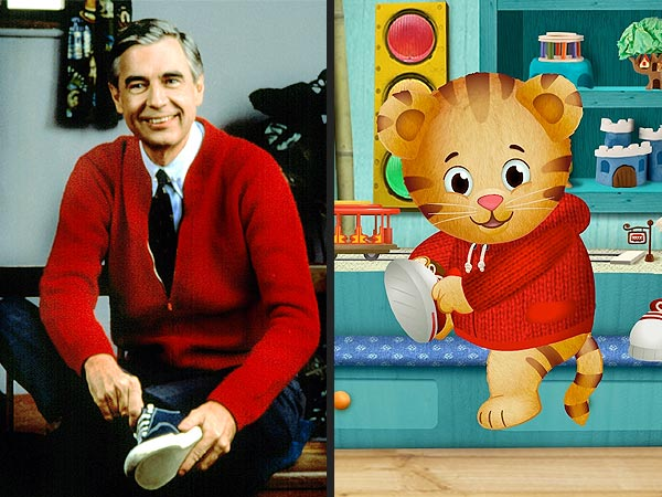 Mr. Rogers' Neighborhood Welcomes Daniel Tiger