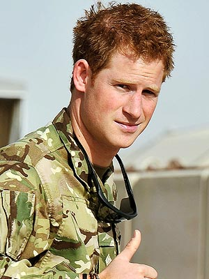 Prince Harry Calls His Family from Afghanistan