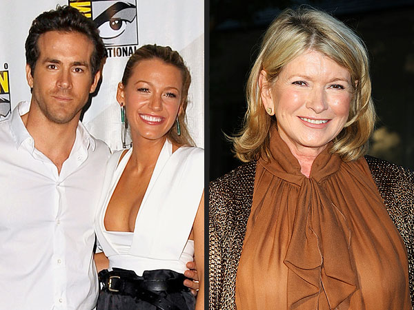 Blake Lively, Ryan Reynolds Wed: A Martha Stewart Weddings Production