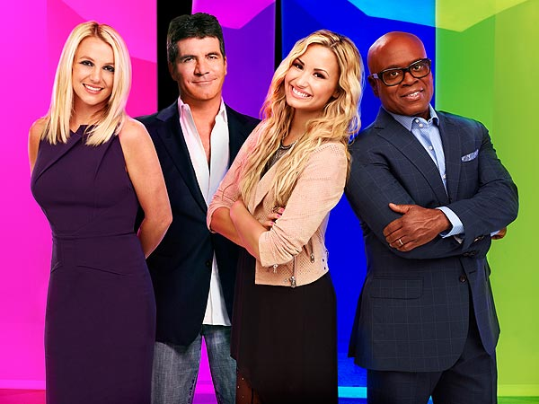 The X Factor: Britney Spears Sings 'Happy Birthday' to L.A. Reid