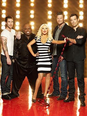 The Voice: Adam Levine and Costar Coaches Fight for Talent