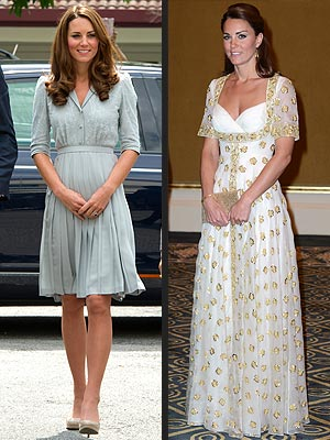 Kate Continues to Flaunt Her Royal Style in Asia