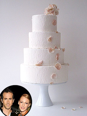 Blake Lively & Ryan Reynolds's Wedding Dessert: Sweet Details