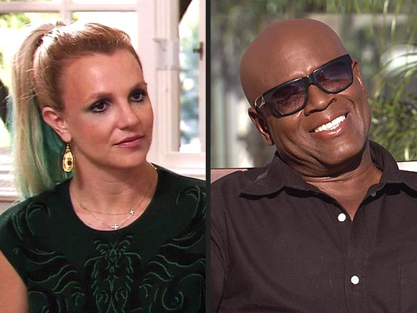 The X Factor: Britney Spears, L.A. Reid Get Ready to Deliberate