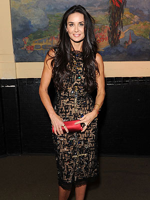 Demi Moore Steps Out Smiling at Charity Event in N.Y.C.