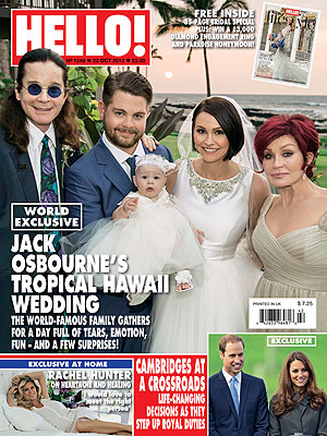 Jack Osbourne, Lisa Stelly Marry in Hawaii; See Their Wedding Photo