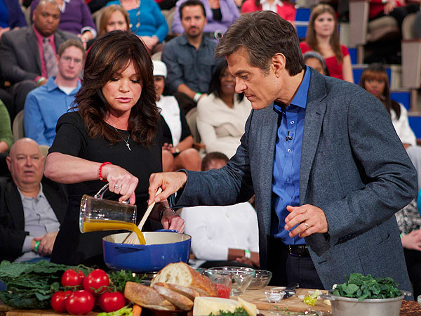 Valerie Bertinelli Tells Dr. Oz: Food Was My Crutch