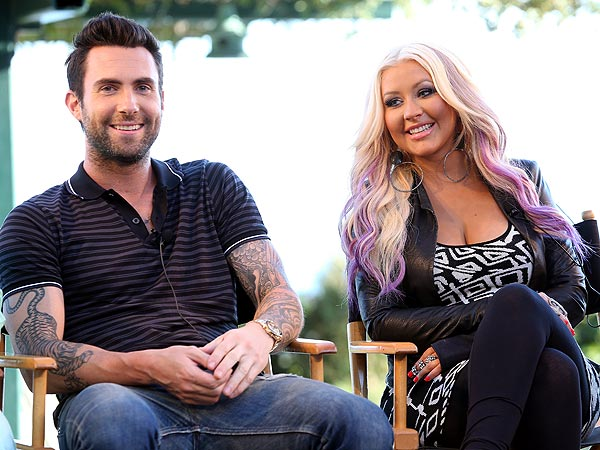 Adam Levine Defends Christina Aguilera Against Body 'Bullies'