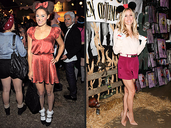 Halloween Costumes: Kristin Cavallari & Lauren Conrad Dress as Minnie Mouse