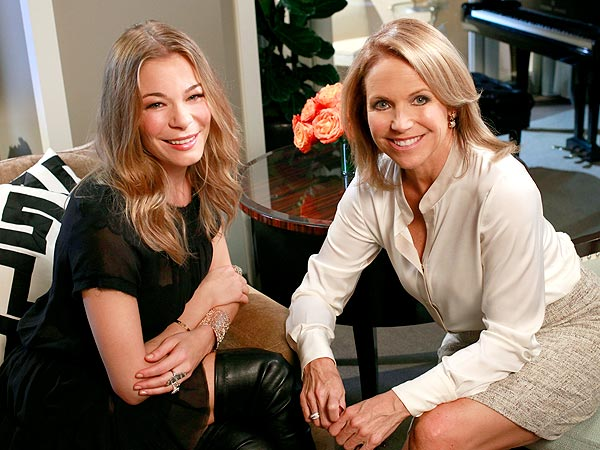 LeAnn Rimes Tells Katie Couric: I Feel Like I Am Starting Over