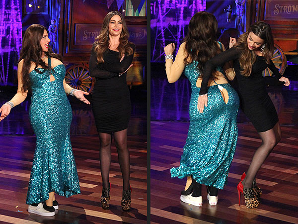 Halloween - Ellen DeGeneres Dresses Up as Sofia Vergara