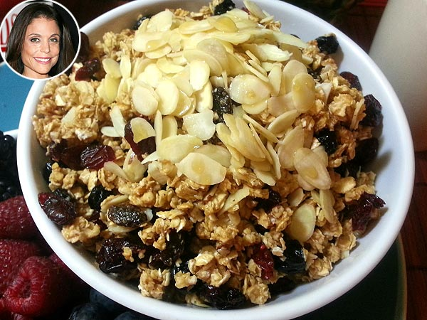 Bethenny Frankel's Nutty Granola Recipe