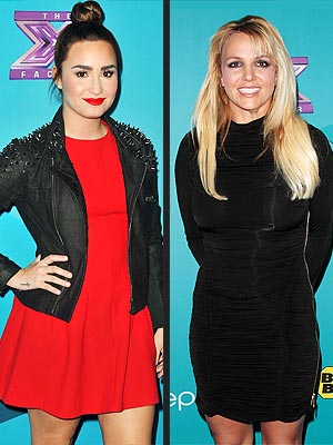 The X Factor: Demi Lovato Expected Britney Spears to Be a 'Diva'