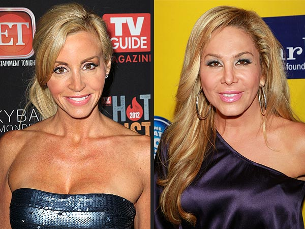 Real Housewives of Beverly Hills: Camille Grammer on Adrienne Maloof&#39;s Divorce