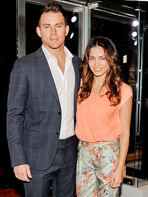 Jenna Dewan-Tatum and Channing Tatum Plan a Christmas Dance-Off