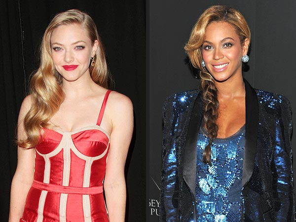 Beyoncé & Amanda Seyfried Take on Fantasy Roles
