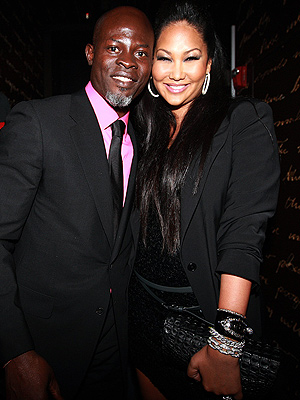 Kimora Lee Simmons, Djimon Hounsou Split