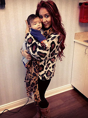 Snooki  Baby on Nicole  Snooki  Polizzi  I Already Want Another Baby   People Com