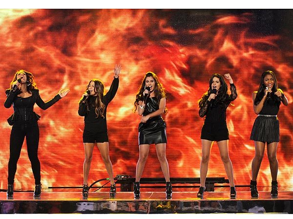X Factor: Fifth Harmony Member Sings Despite Grief Over Grandfather's Death