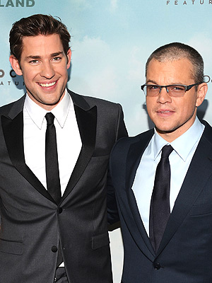 John Krasinski, Matt Damon: Promised Land Premiere Interview