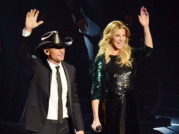 Tim McGraw & Faith Hill Kick Off Las Vegas Shows