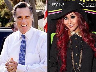 Nicole 'Snooki' Polizzi & Mitt Romney Attend Las Vegas Boxing Match | Nicole Polizzi