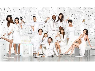Kardashians Unveil 2012 Christmas Card | Khloe Kardashian, Kim Kardashian, Kourtney Kardashian, Lamar Odom, Rob Kardashian, Scott Disick