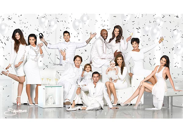 Kardashian Christmas Card Revealed