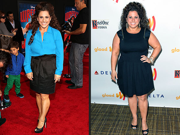 Marissa Jaret Winokur's Weight-Loss: Photo