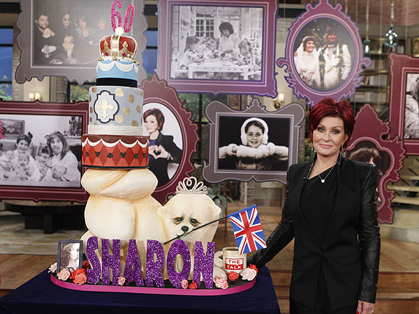 Sharon Osbourne Turns 60 on The Talk