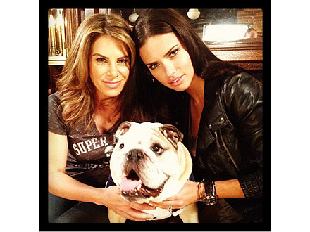 Super Bowl Preview: Adriana Lima, Jillian Michaels &#8211; and a Bulldog!