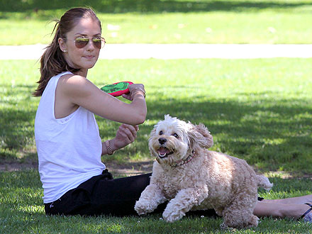 Minka Kelly & Chewy: Fun Day at the Park!