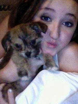 Noah Cyrus Adopts a Puppy: Photo