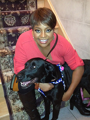 Sherri Shepherd Rescues Black Lab: Photo