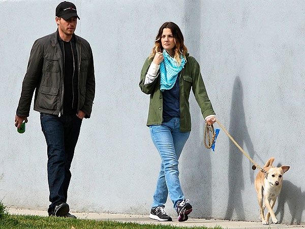 Drew Barrymore's Dogs Are Protective of New Baby Olive