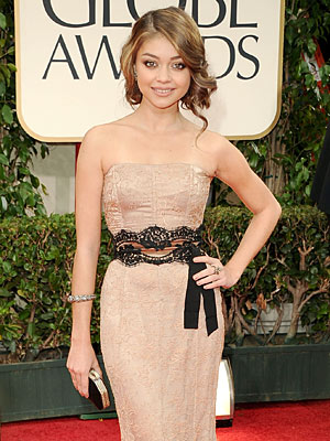 Sarah Hyland of Modern Family's Wardrobe Malfunction