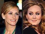 Adele&#39;s Hollywood Wannabes | Adele, Julia Roberts