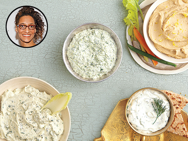 Carla Hall's Perfect Party Dips