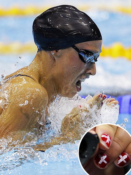 Olympic Swimmers Nail It!