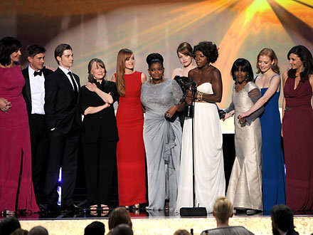 SAG Awards 2012: The Help, Viola Davis, Octavia Spencer Win