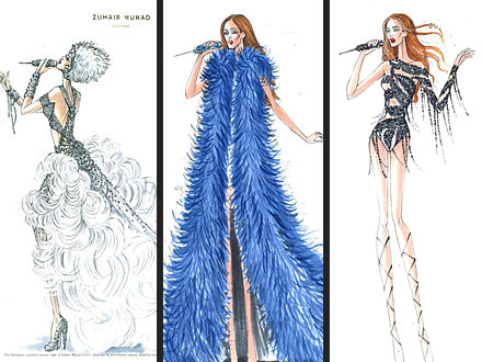 Take a Peek at Jennifer Lopez's Sexy Tour Costumes