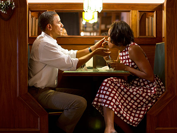 Michelle Obama Speech: She Details Her Dream Anniversary Date with the President