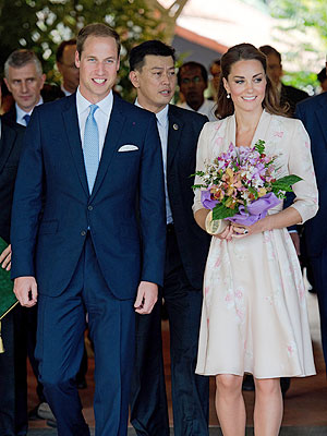 Kate Middleton, Prince William Asia Tour Begins in Singapore