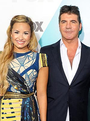 The X Factor: Demi Lovato, Simon Cowell, Britney Spears, L.A. Reid