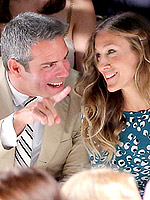New York Spring 2013: Day 5 | Andy Cohen, Sarah Jessica Parker