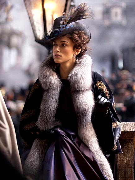 Keira in Costume: See Exclusive Anna Karenina Shots