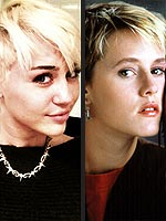 Miley Cyrus's Top 5 Hair Doppelgängers | Robyn, Miley Cyrus