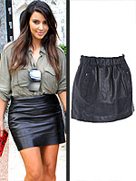 Try This Trend: Leather | Kim Kardashian
