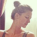 PHOTO: Gisele Bündchen Practices with Her Little Yogini | Gisele Bundchen