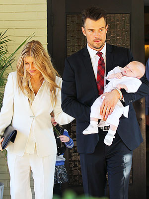 Fergie and Josh Duhamel's Son Axl Gets Baptized